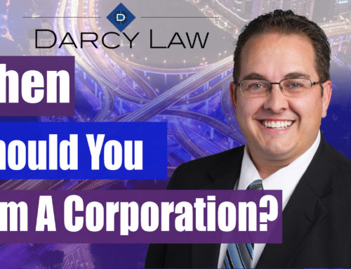 When Should You Form A Corporation?