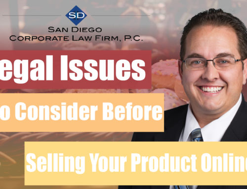 7 Legal Issues to Consider Before Selling Your Product Online