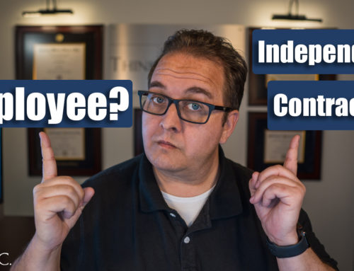 Employee vs Independent Contractor (California)